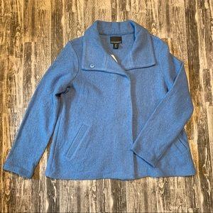 Cynthia Rowley Wool Blend Blue Swing Coat NWT Sm